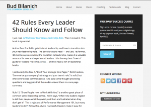 Rules Every Leaders Should Know and Follow