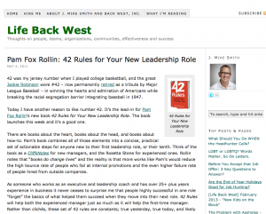 42 rules for a new leadership role
